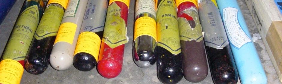 Gestion des gaz comprimés et des cylindres
